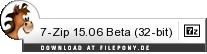 Download 7-Zip bei Filepony.de