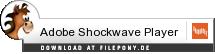 Download Adobe Shockwave Player bei Filepony.de