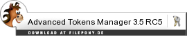Download Advanced Tokens Manager bei Filepony.de