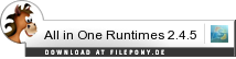 Download All in One Runtimes bei Filepony.de