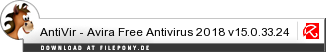 Download AntiVir - Avira Free Antivirus bei Filepony.de
