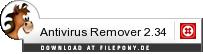 Download Antivirus Remover bei Filepony.de