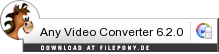 Download Any Video Converter bei Filepony.de