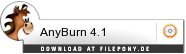 Download AnyBurn bei Filepony.de