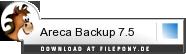 Download Areca Backup bei Filepony.de
