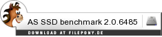 Download AS SSD benchmark bei Filepony.de