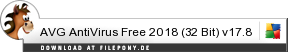 Download AVG AntiVirus Free (32 Bit) bei Filepony.de