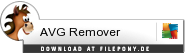 Download AVG Remover bei Filepony.de