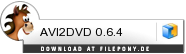 Download AVI2DVD bei Filepony.de