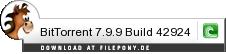 Download BitTorrent bei Filepony.de