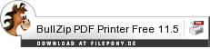 Download BullZip PDF Printer Free bei Filepony.de