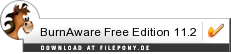 Download BurnAware Free Edition bei Filepony.de
