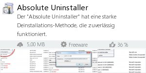 Infocard Absolute Uninstaller