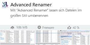 Infocard Advanced Renamer