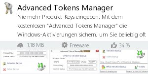 Infocard Advanced Tokens Manager