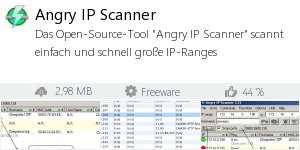 Infocard Angry IP Scanner