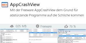 Infocard AppCrashView