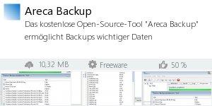 Infocard Areca Backup