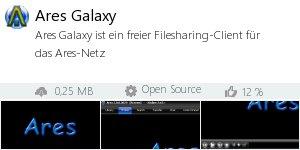 Infocard Ares Galaxy