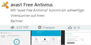 Infocard avast Free Antivirus