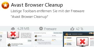 Infocard Avast Browser Cleanup