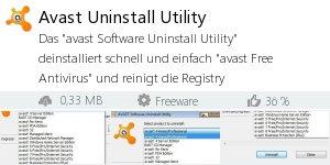 Infocard Avast Uninstall Utility