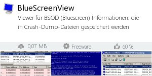 Download BlueScreenView bei Filepony.de
