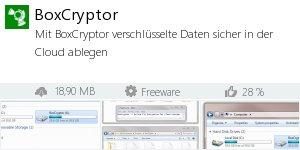 Infocard Boxcryptor