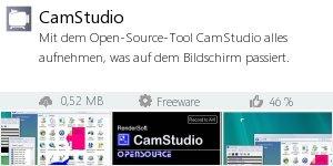 Infocard CamStudio