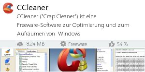 Infocard CCleaner