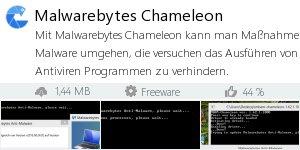Infocard Malwarebytes Chameleon
