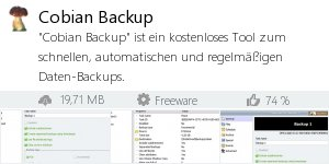 Infocard Cobian Backup