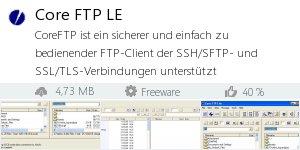 Infocard Core FTP LE