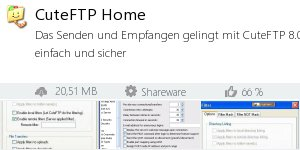 Infocard CuteFTP Home