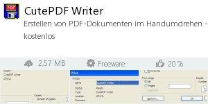Infocard CutePDF Writer