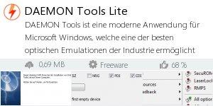 Infocard DAEMON Tools Lite