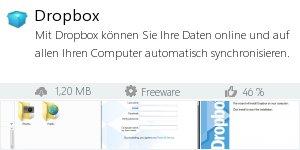 Infocard Dropbox