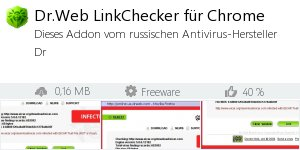 Infocard Dr.Web LinkChecker für Chrome