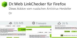 Infocard Dr.Web LinkChecker für Firefox