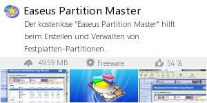 Infocard Easeus Partition Master