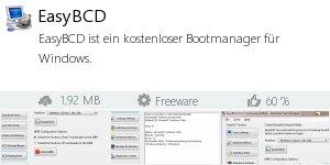 Infocard EasyBCD