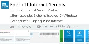 Infocard Emsisoft Internet Security