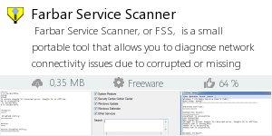Infocard Farbar Service Scanner