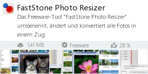 Infocard FastStone Photo Resizer