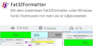 Infocard Fat32Formatter