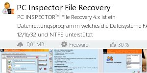 Infocard PC Inspector File Recovery