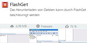 Infocard FlashGet