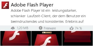 Infocard Adobe Flash Player