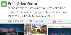 Infocard Free Video Editor
