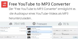 Infocard Free YouTube to MP3 Converter